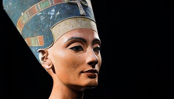 才识真面目!古埃及美女王后纳芙蒂蒂面目还原