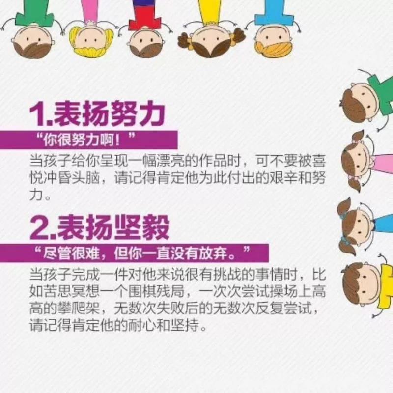 鼓励孩子的16种方法